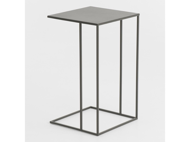 p table side du monde metal grey htm sidetable zigzag en uk maisons